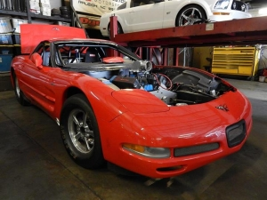 Ever seen a Ford-Powered C5 Z06 'Vette? Now's Your Chance…