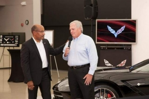 Rick Hendrick Picks Up the First 2014 Corvette