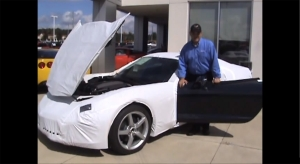 Video: Unwrapping a Brand New C7 Corvette Stingray