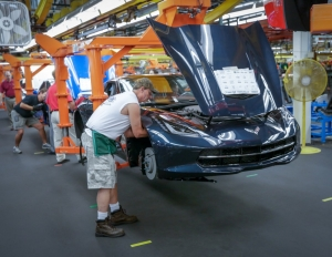 Tours Resume at the Bowling Green Corvette Assembly Plant