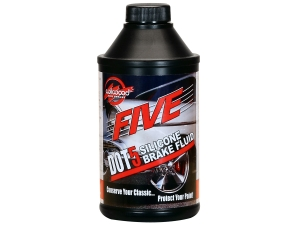 DOT 5 FIVE Brake Fluid Bottle