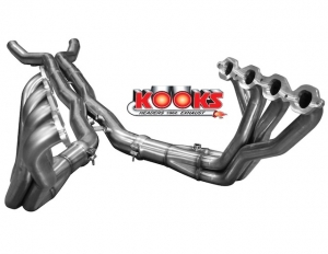 Kooks' S/S Header & Torque Scavenging X-Pipes For 2014 Stingray