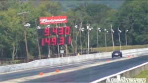Video: New World's Quickest ZR1 Corvette Dragstrip Pass