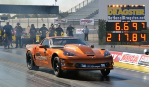 Mark Carlyle Sets LSX Drag Radial World Record At NMCA Finals!