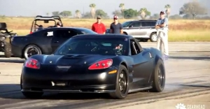 Video: Nitrous Malfunction Causes C6 Corvette to Burst Into Flames