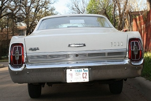 1967 Ford Galaxie 500 rear