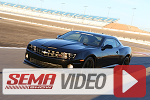 SEMA 2013: Chevrolet Performance Adds Factory-Spec Camaro Upgrades