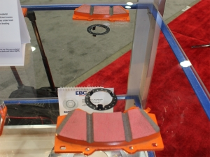 SEMA 2013: EBC Brakes' New Pads For Light Duty And Racing Vehicles