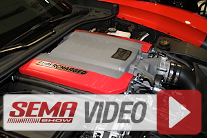 SEMA 2013: Edelbrock E-FORCE Supercharger for C7 Vette and Silverado