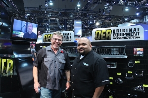 SEMA 2013: Our Friend Dan Woods Stops By Classic Industries Booth
