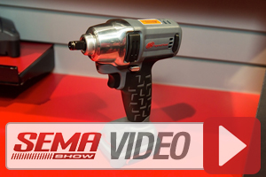 SEMA 2013: Ingersoll Rand IQV12 Tools Offer Big Power And Ergonomics