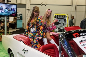 SEMA 2013: Drake Automotive Mustang Bezels, Steering Wheels and More