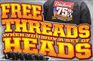 Heads and Threads Gives Edelbrock Customers A Cool New Jacket