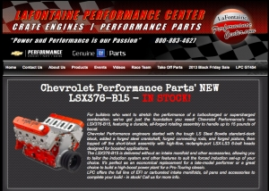 Get Your Free 2014 Chevy Performance Catalog from LaFontaine!