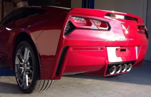 RPI Designs Now Selling Painted Lower Rear Bumper Covers for C7