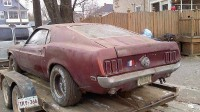 Project Annabel 1969 Mustang Mach 1 rear