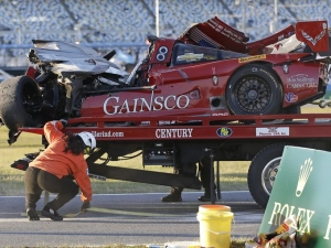 Corvette Daytona Prototype Driver Hospitalized After Rolex 24 Crash