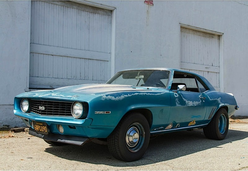 Barn Find Vintage 69 Camaro SS Drag Car