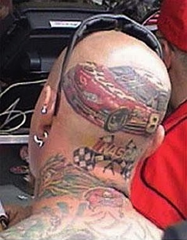 Chevy ink some of the best and the worst chevy tattoos for Worst place to get a tattoo
