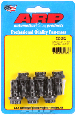 We use ARP fasteners whenever possible - their track record of excellent performance and ultimate strength has proven itself in applications from Top Fuel to the street.