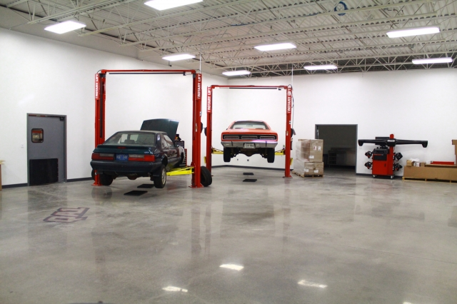 The soon-to-be-completed R&D area where fitment and function will be tested.