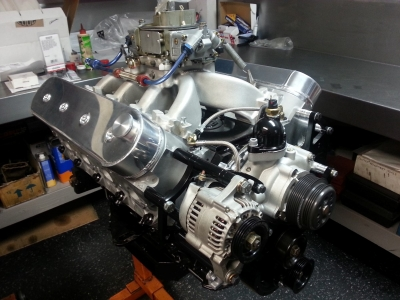 The engine is currently topped with a carburetor for one more race, and then the EZ-EFI has been deemed legal for the rest of the season. This is a tight package that lowers the cost of racing for the competitors.