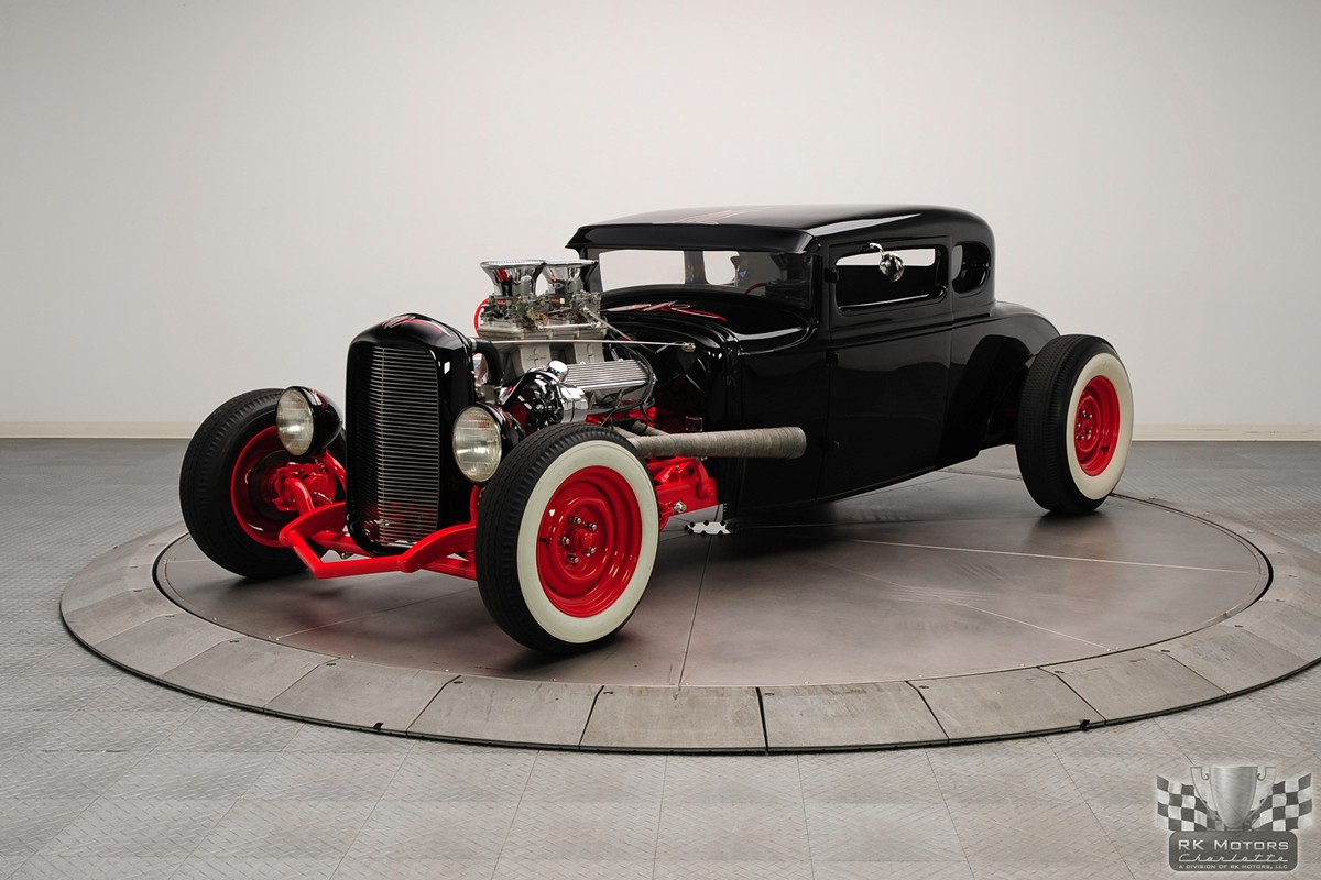 Traditional \'31 Ford Up For Sale Putting Modern To The Wind - Rod ...