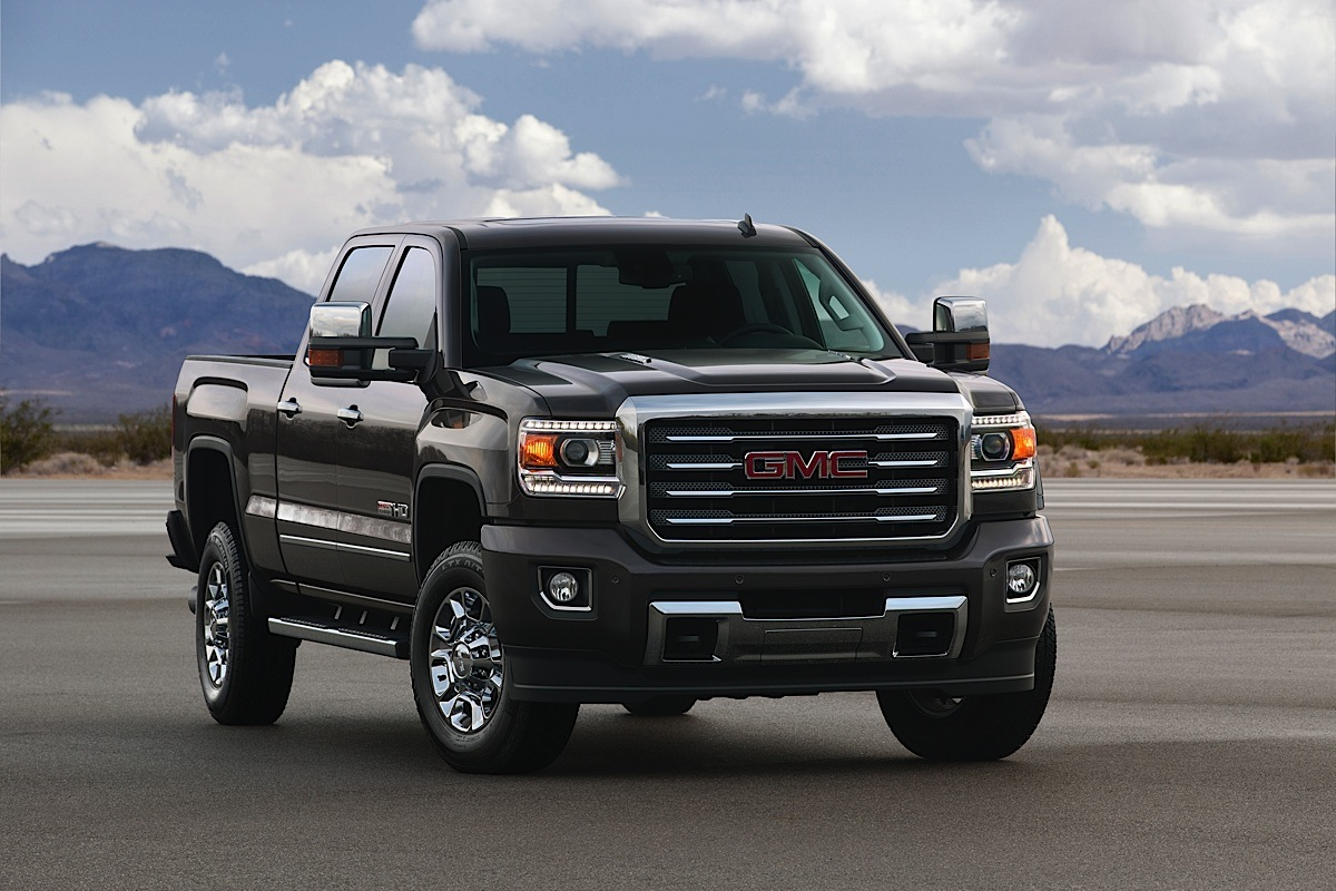 this just in gmc debuts all terrain hd package for 2015 sierras diesel army. Black Bedroom Furniture Sets. Home Design Ideas