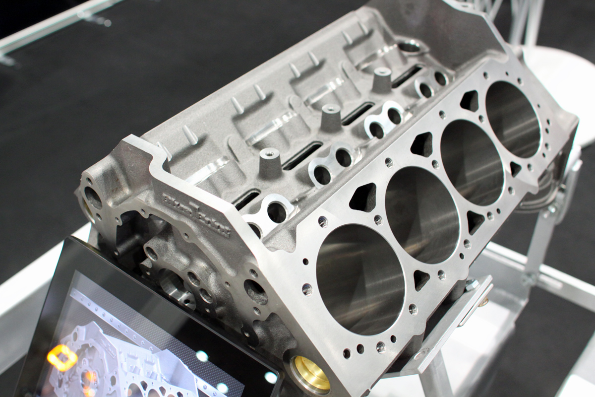 SEMA 2014: BluePrint Engines Debuts SBC Block, Shows LS3 Heads ...