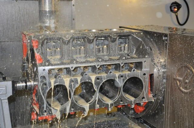 LME has invested hundreds of hours into the CNC programing for their block machining center, which handles nearly every task discussed in this article.
