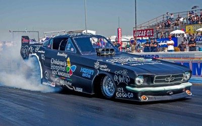 Dan Horan Leads Funny Car field after two sessions of qualifying with a 5.715 et at 257.24 mph