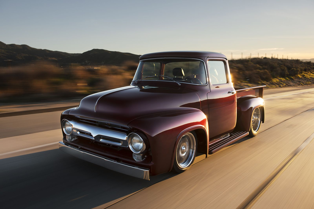 Old Truck, New Tricks: BSI\'s 1956 X-100 Trucks Are Fresh And Fast ...