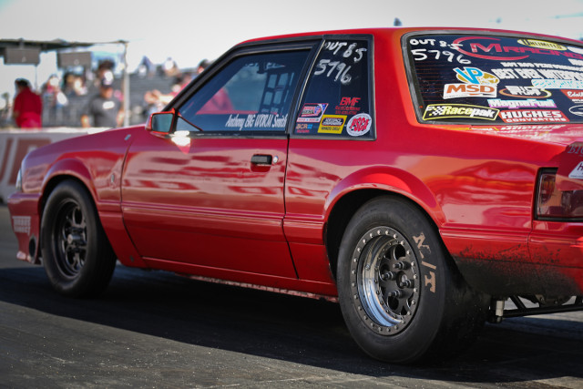 West Coast Outlaw 8.5 hitter Anthony Smith has already out the 3052R through its paces this spring, knocking nearly a tenth of a second off his previous career best on the bias ply tire.