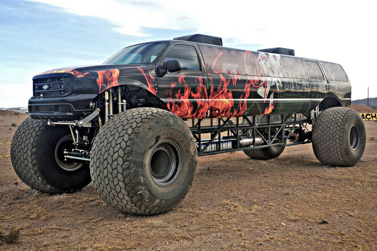 Build A Ford Truck >> Video: Million-Dollar Monster Truck For Sale
