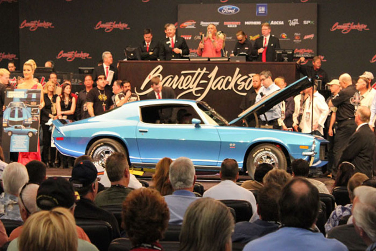 Bidding at a barrett jackson auction sciox Image collections