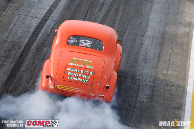The NDRL nostalgia series and Gateway's local bracket series are kicking off eliminations today, with the first round of Pro Modified slated for a 6:30 p.m. start time.