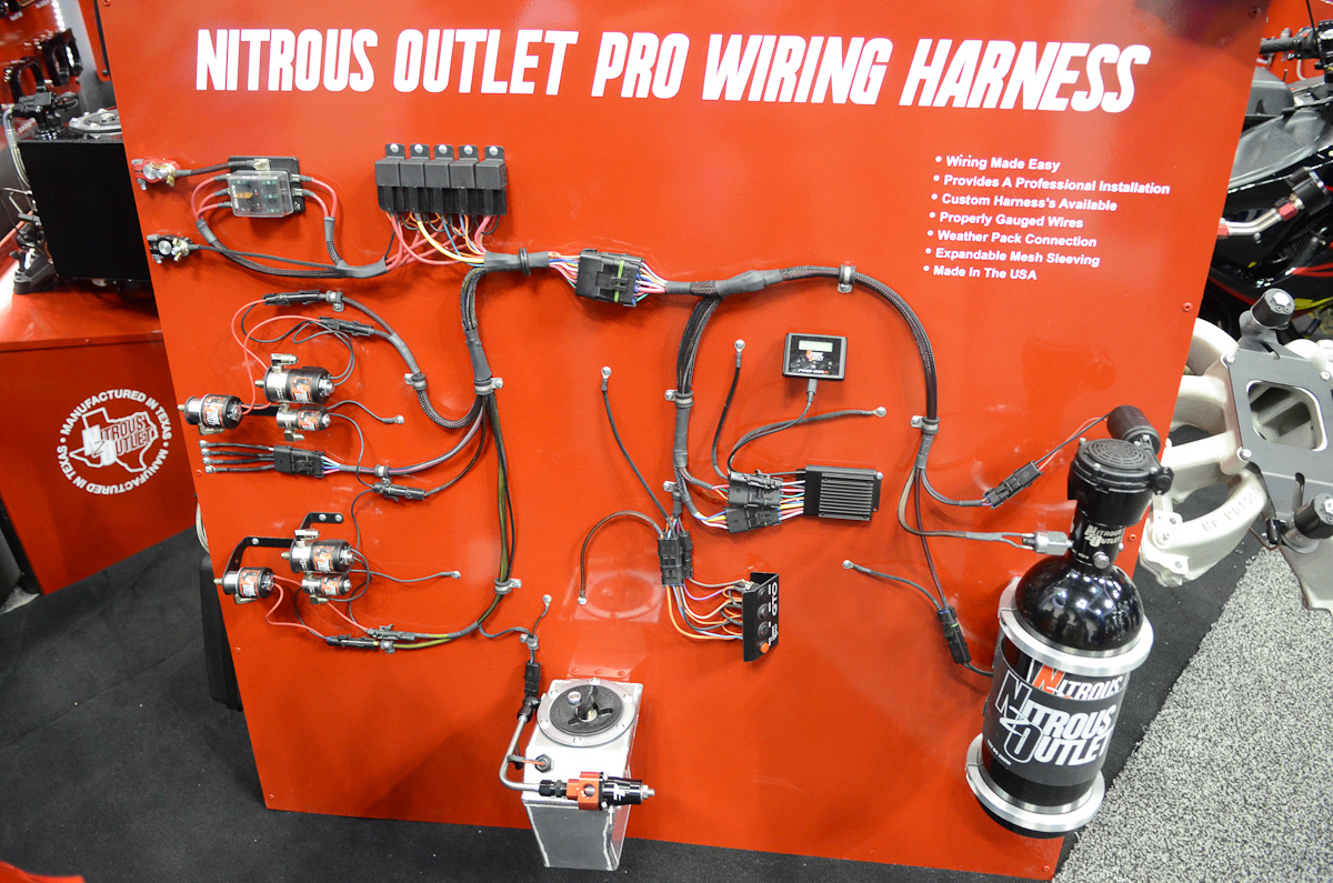 Wiring Harness Race Car : Pri nitrous outlet simplifies install with new