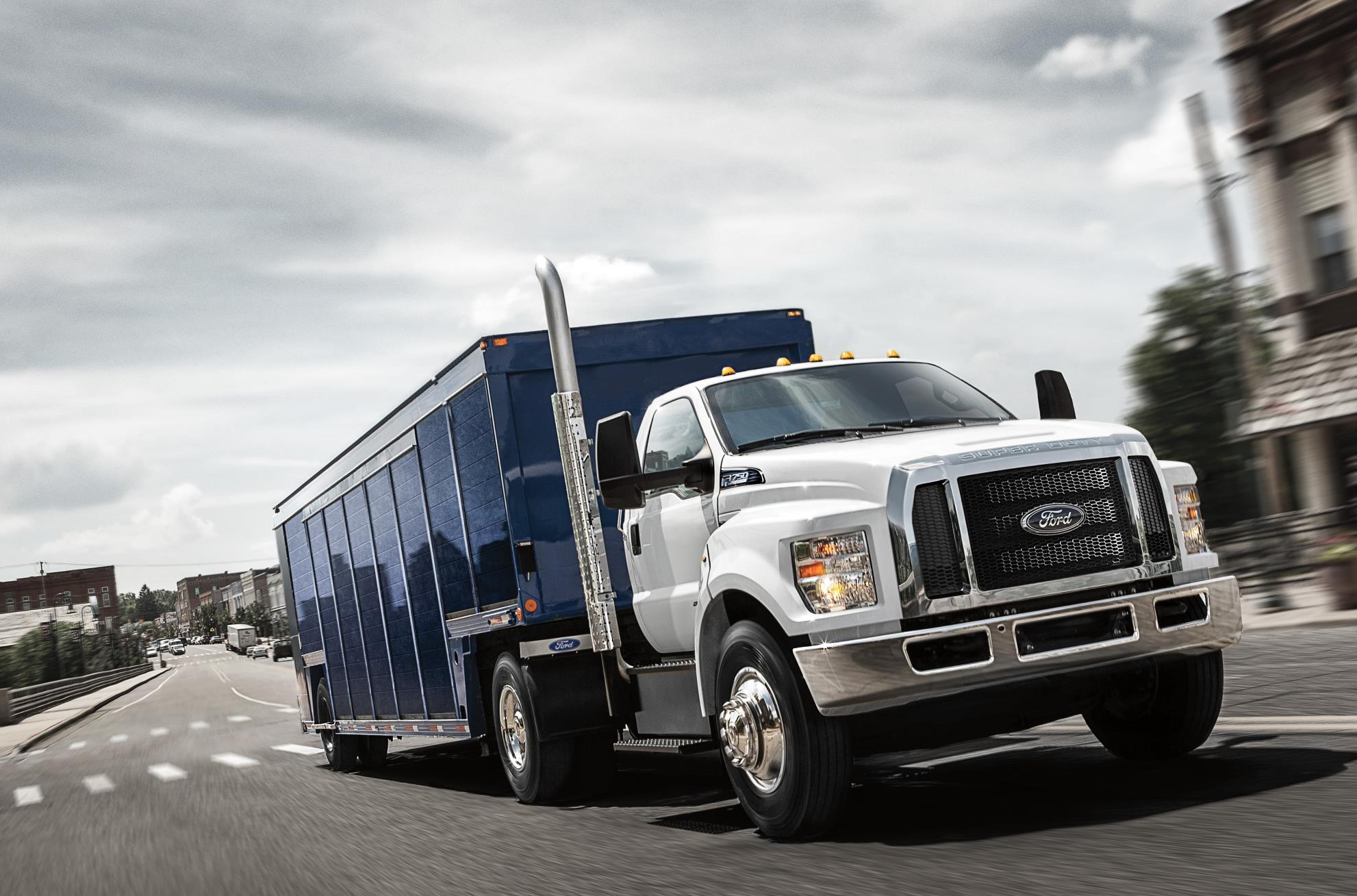 ford medium duty truck sales up 59 over last year. Black Bedroom Furniture Sets. Home Design Ideas