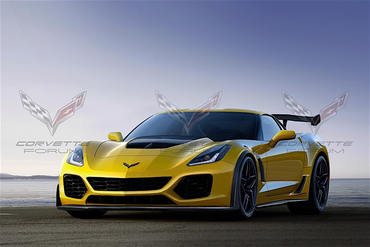 Is This 2018 Corvette ZR1 Render The Real Deal?