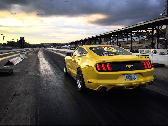 Following up a successful run of NMRA EcoBoost races last season, Bill Putnam of UPR product set the EcoBoost Mustang quarter-mile record late last year. Last Friday he and the UPR ride reset that record with a 9.87 at 138.5 mph rip.
