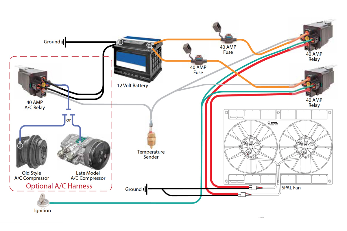 Ac Fan Relay Wiring Another Blog About Diagram Blower Safely With C R Racing A