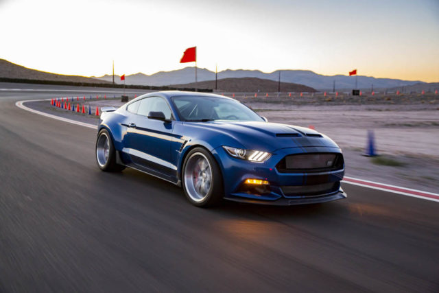 Shelby revealed its first concept vehicle in 10 years, the 2017 Shelby Super Snake widebody, which tunes up the corner-carving capabilities of the 50th Anniversary Super Snake with wider track, a unique suspension, bigger brakes and more.