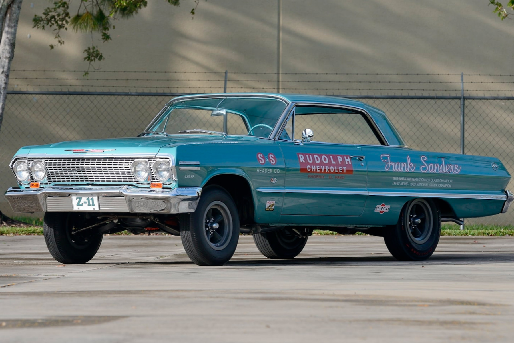 This 1963 z11 impala could end up in your garage it wont be cheap period perfect doesnt begin to describe this car lettering tires stance its all as it should be solutioingenieria Image collections