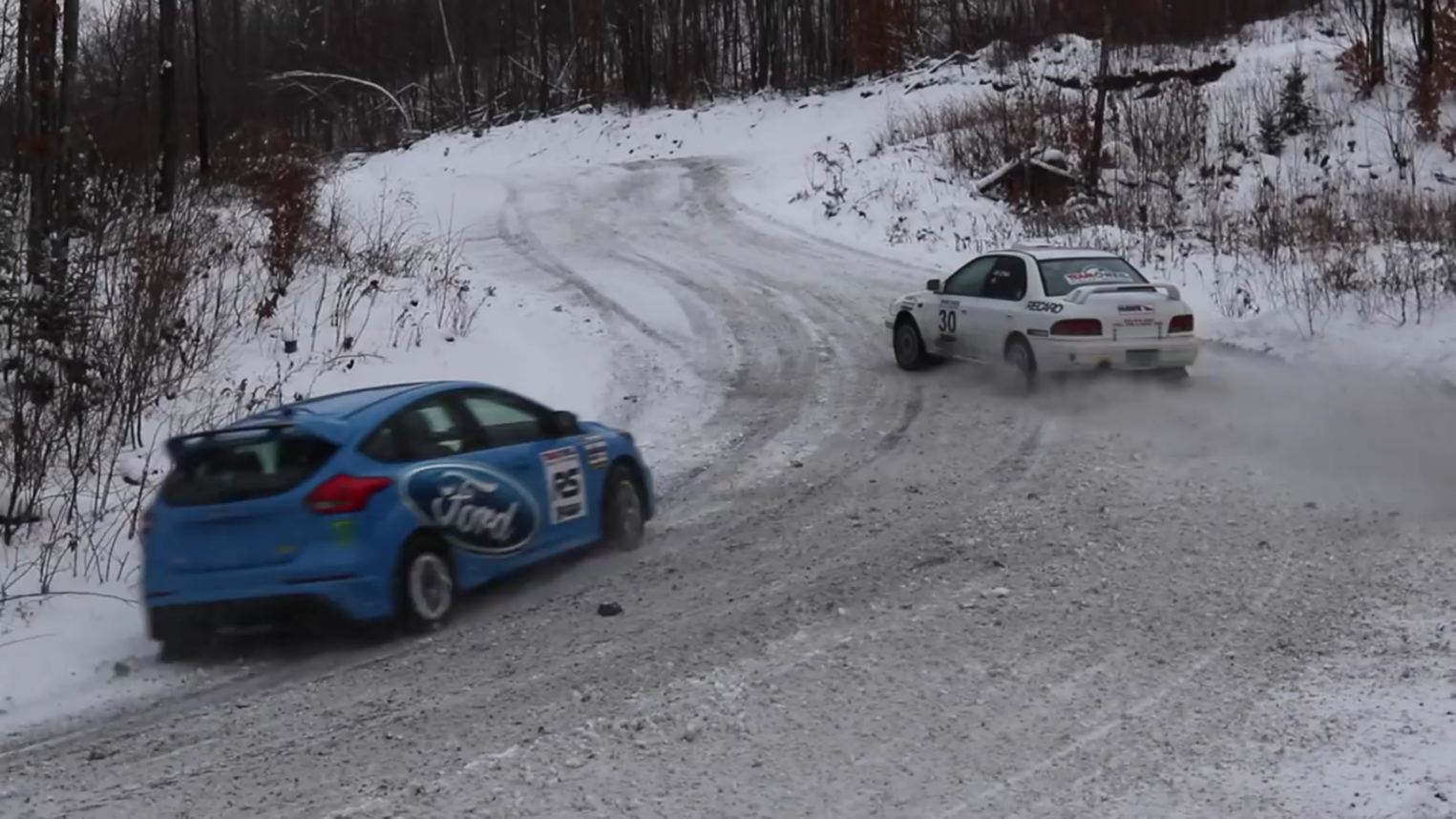 Video: How Does a Focus RS Compare with a Rally Car?