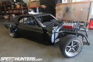 Vaughn Gittin Jr.'s RTR-X Mustang Making Progress
