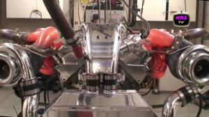 Video: Amazing 2,200HP Twin-Turbo BBC Glows Red with Power