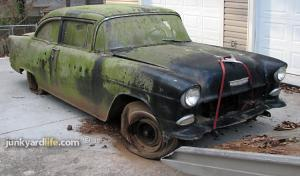 How to Score a '55 Chevy Barn Find