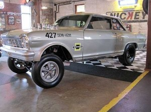 "Bill Thomas' '65 ""Novel Nova"" Funny Car Goes To Auction"