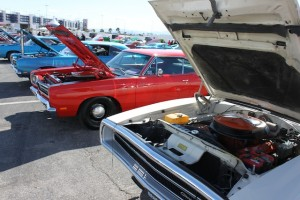 Gallery: Getting to This Year's Mopars At The Strip Is Half The Fun