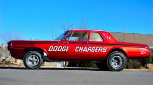 "This '64 Charger, The ""First Funny Car,"" To Be Auctioned Labor Day"